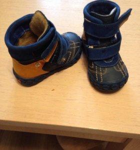 Демисезонные ботиночки 21 рпзмер