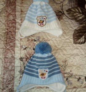 Вязанные зимние шапочки