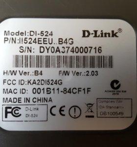 Роутер WiFi d-link DL524