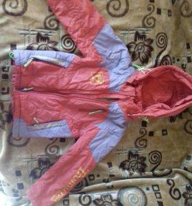 Куртка весна осень на 5-7лет