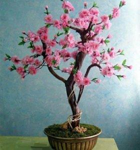 Волшебное дерево с цветами