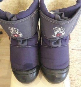 Демары зимние сапоги ботинки