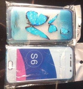 Чехлы на Samsung S6