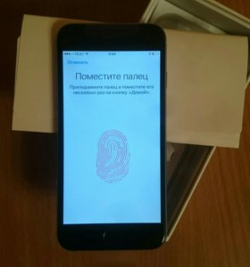 New iPhone 6 c Touch ID