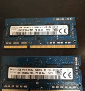 Оперативная память ddr3 6gb