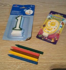 Свечи карандаши