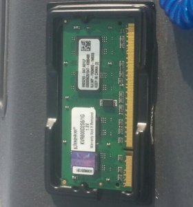 Память на ноутбук  ddr 2  1g 800