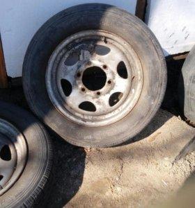 Два колеса с Nissan atlas