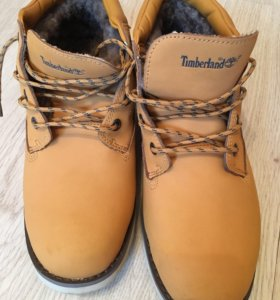 Ботинки зимние( Тимберленд)