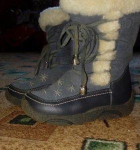 Сапожки на девочку,зима