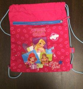 Спортивная детская сумка