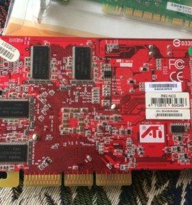 Видеокарта ATI radeon 9200