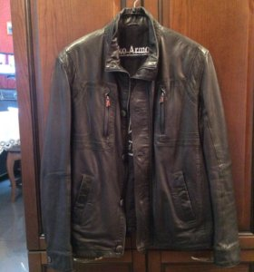 Куртка кожаная, мужская, новая.