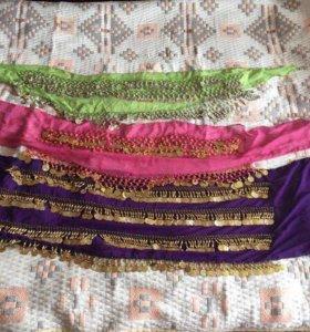 Платки и пояса для танца живота
