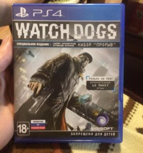 Игра на PS4 Watch_dogs поменяю на игру для PS4