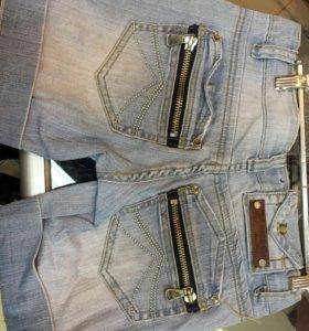 Шорты джинсовые. Женские.
