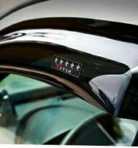Ветровики дверей Mazda Tribute
