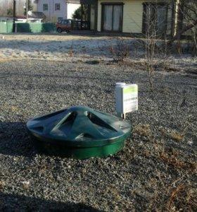 Финская автономная канализация. Септик.