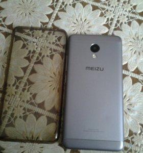 Продаю телефон MEIZU m3s