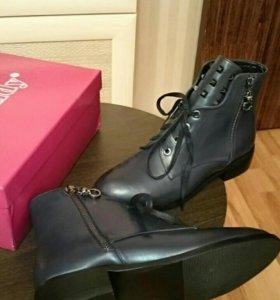 Новые стильные женские ботинки, размер 37