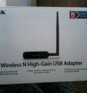 Wi-Fi принимающее устройство для компьютера и ноут