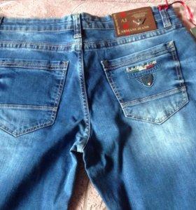 Новые джинсы мужские armani