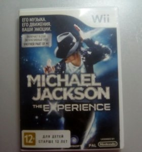 "Игра для Wii ""Michael Jackson the experience"""