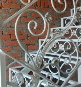 Кованные лестницы и ограждения