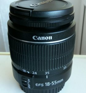 Объектив Canon 18-55