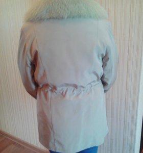 Женская куртка с подкладом