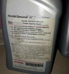 Масло в механическую КПП Honda MTF, 1лОригинальное
