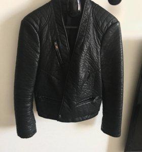 Куртка Zara из искусственной кожи