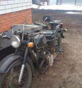 Мотоцикл к 750