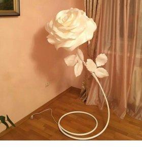 Цветок-торшер