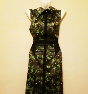 Платье миди от живанши
