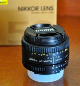 Nikon Nikkor 50mm 1.8D