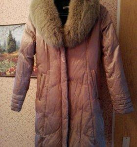 зимнее пальто и ветровку