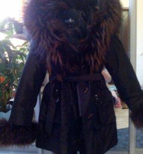 Пальто сезонное нат мех