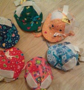 Новые кепки,панамки