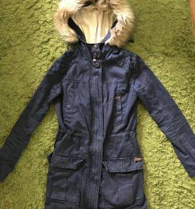 Куртка парка Pull and bear
