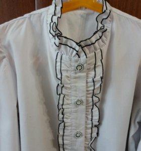 Блузка , школьная , для девочки .