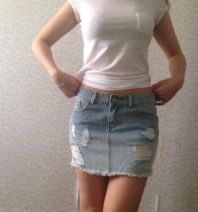 Юбка джинсовая,новая