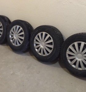 Комплект зимних колёс на дисках R16 Nissan X-Trail