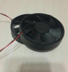 Вентилятор круглый 100 мм на 36 вольт