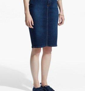 Джинсовая юбка Mango, новая с этик
