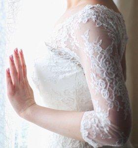 Свадебное дизайнерское платье от Татьяны Каплун