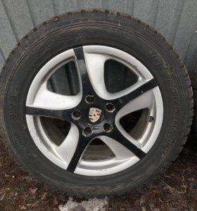 Диски Porsche (с зимней резиной)