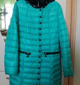 Пальто болоневое на синтепоне