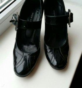 Туфли лаковые натуральная кожа