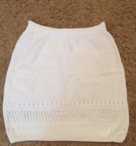 Новая вязаная юбка